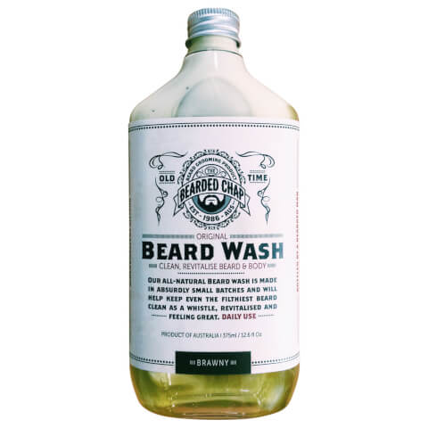 Bearded Chap Original Beard Wash Brawny 375ml