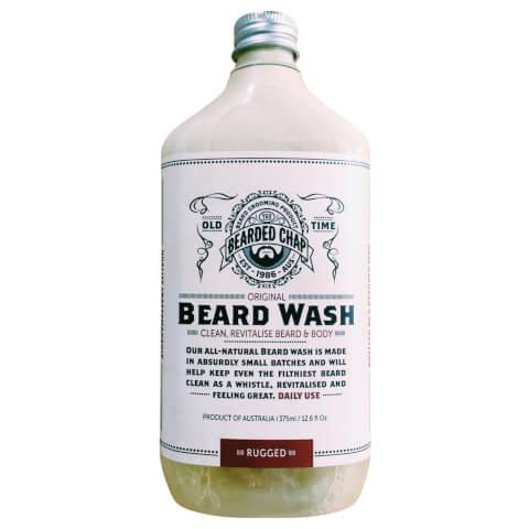 Bearded Chap Original Beard Wash Rugged 375ml