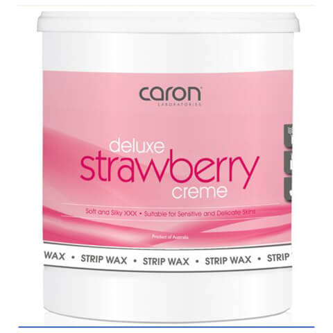 Caron Strawberry Creme Microwaveable Strip Wax 800ml