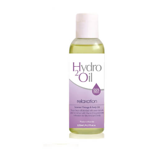 Caronlab Hydro2Oil Relaxation Scented Massage And Body Oil 125ml
