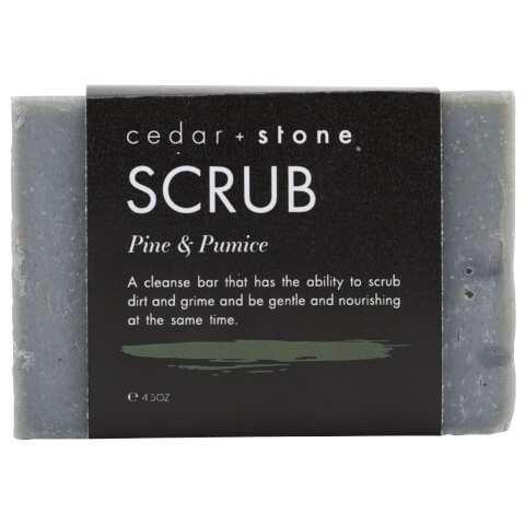 Cedar + Stone Patchouli + Irish Moss Cleanse Bar 140g