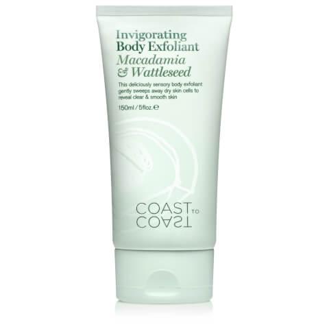 Coast to Coast Rainforest Invigorating Body Exfoliant 150ml