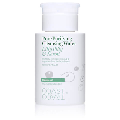 Coast to Coast Rainforest Pore Purifying Cleansing Water 160ml