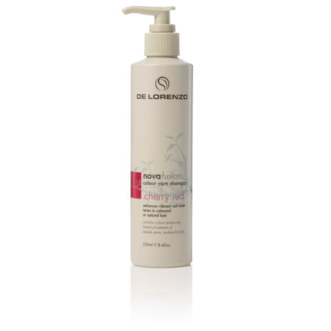 De Lorenzo Novafusion Coloour Care Shampoo Cherry Red