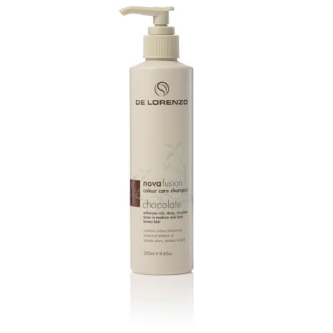 De Lorenzo Novafusion Colour Care Shampoo Chocolate