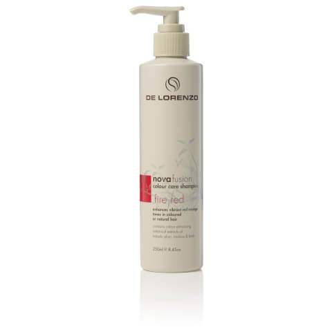 De Lorenzo Novafusion Colour Care Shampoo Fire Red