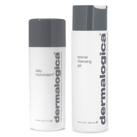 Dermalogica Special Cleansing Gel 250ml + Daily Microfoliant 75ml Duo
