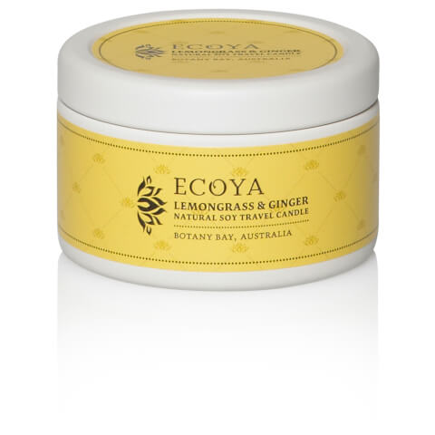 ECOYA Lemongrass & Ginger Travel Tin