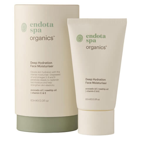 Endota Spa Organics Deep Hydration Face Moisturiser 60ml