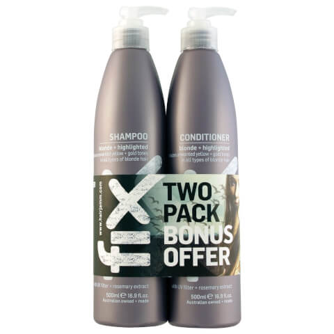 FIX Blonde/Highlighted Shampoo & Conditioner Duo 500ml