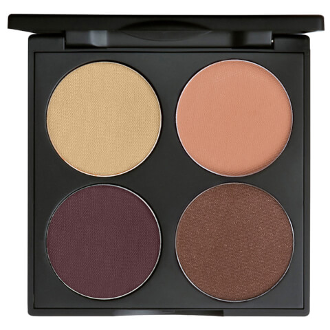 Gorgeous Cosmetics Custom Eyes 4 Pan All-in-One Eye Shadow Palette - Hazel Eyes