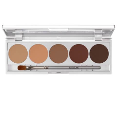 Kryolan Professional Make-Up Shades Eye Shadow Palette - Muscat 7.5g