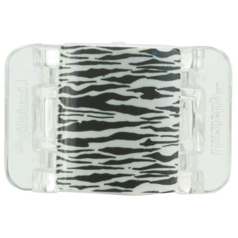 Linziclip Midi Claw Clip - Black And White Tiger