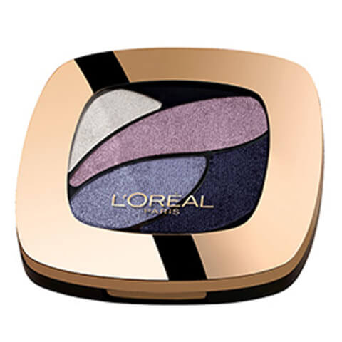 L'Oréal Paris Color Riche Eye Shadow Quads #E7 Lilas Chen