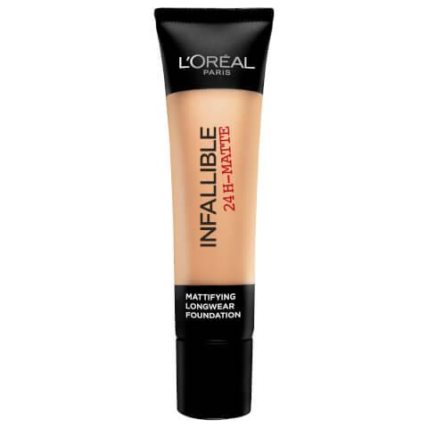 L'Oréal Paris Infallible 24H-Matte Foundation #24 Golden Beige 35ml