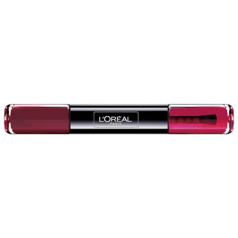 L'Oréal Paris Infallible Gel Nail Polish #16 Forever Burgundy 2 x 5ml
