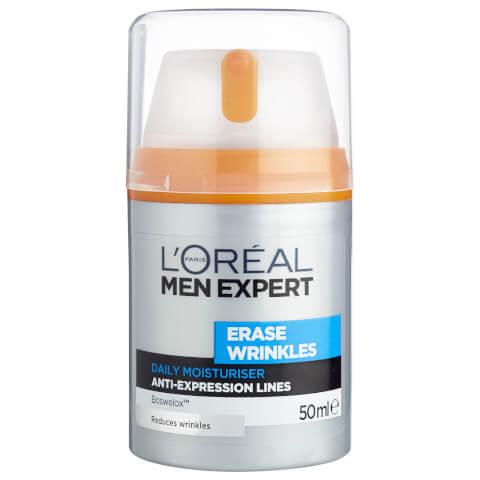 L'Oréal Paris Men Expert Erase Wrinkles Daily Moisturiser 50ml