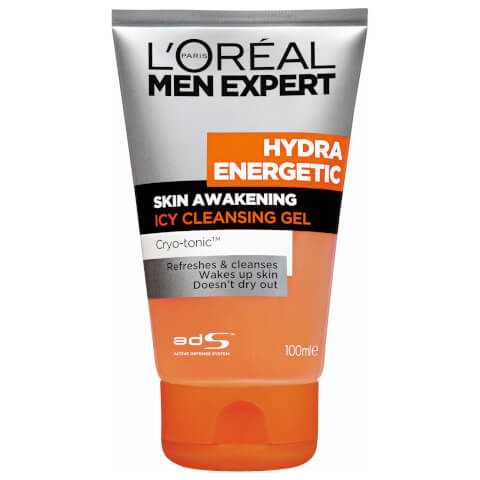 L'Oréal Paris Men Expert Hydra Energetic Skin Awakening Icy Cleansing Gel 100ml