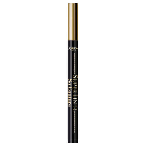 L'Oréal Paris Super Liner So Couture Eyeliner Black 1ml