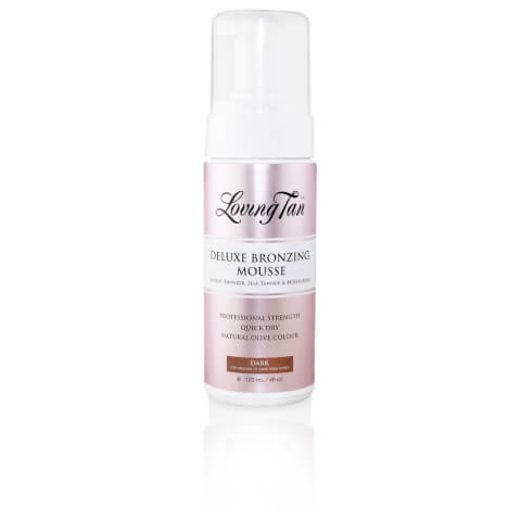 Loving Tan Deluxe Bronzing Mousse Self Tanner - Dark 120ml