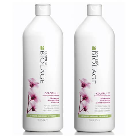 Matrix Biolage Colorlast Shampoo And Conditioner Duo Pack 2 x 1l