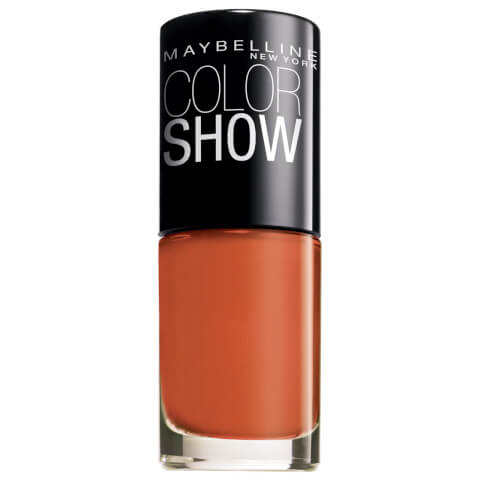 Maybelline Color Show Nail Lacquer #312 Wow Orange 7ml