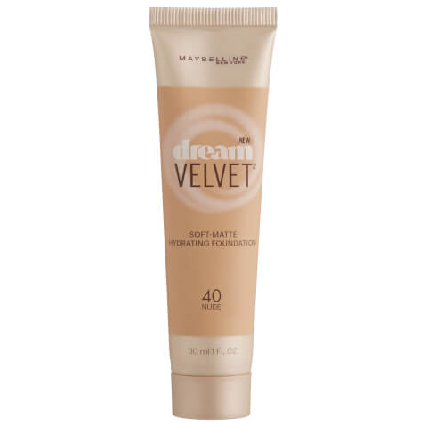 Maybelline Dream Velvet Soft-Matte Hydrating Foundation #40 Nude 30ml