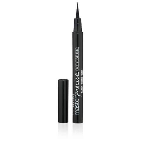 Maybelline Eye Studio Master Precise Liquid Eyeliner - Blackest Black 0.5g