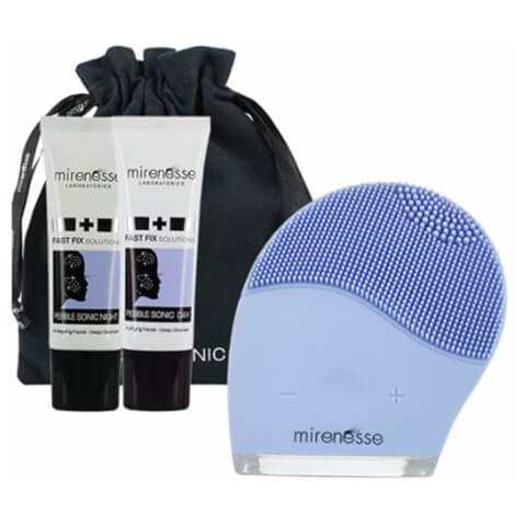 mirenesse Pebblesonic Skin Clearing Facial Beauty Device Kit