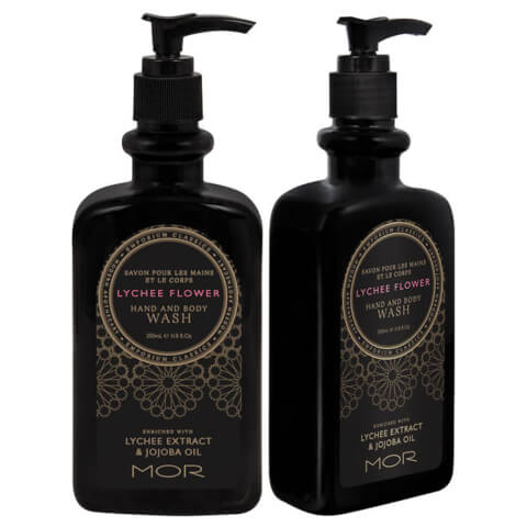 MOR Lychee Flower Hand And Body Wash 350ml