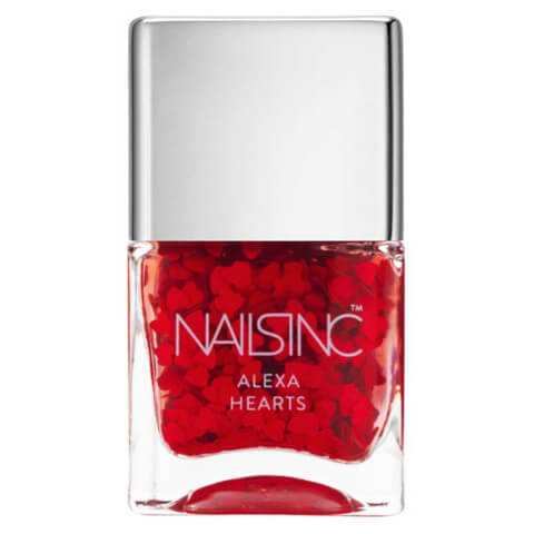 nails inc. Alexa Hearts Nail Polish 14ml