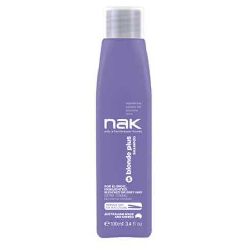 Nak Blonde Plusshampoo Travel Size 100ml