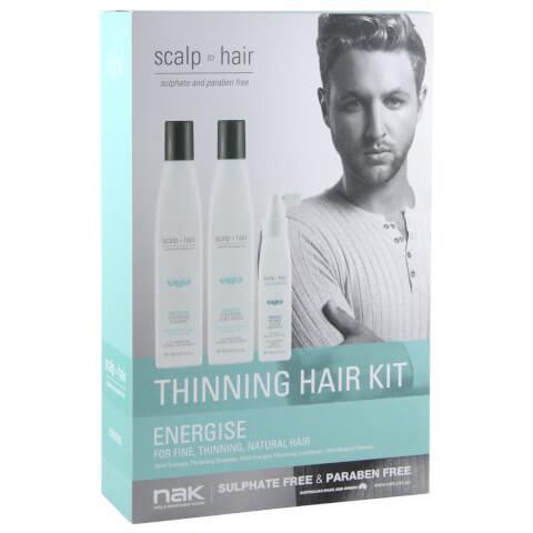 Nak Scalp To Hair Energise Thinning Hair Kit