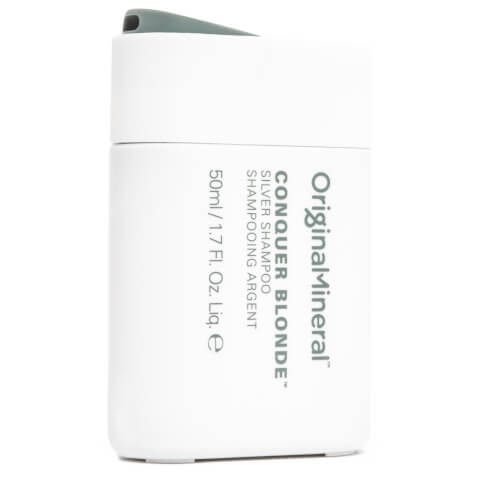 Original & Mineral Conquer Blonde Silver Shampoo 50ml