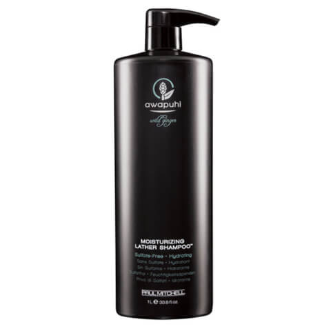 Paul Mitchell Awapuhi Wild Ginger Moisturising Lather Shampoo 1000ml