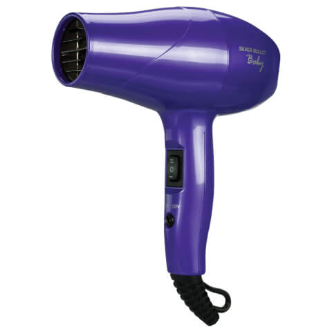 Silver Bullet Baby Travel Dryer - Metallic Purple