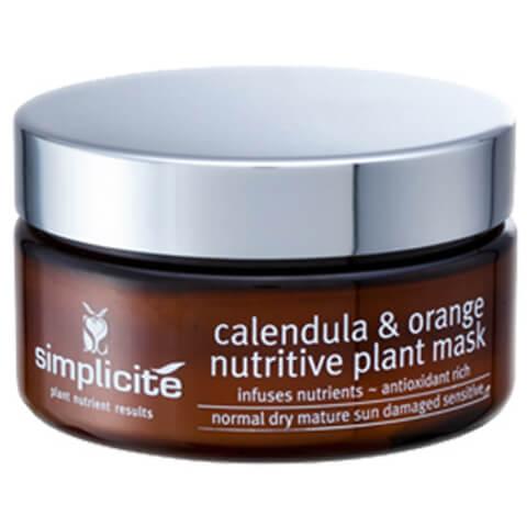 Simplicite Calendula And Orange Nutritive Plant Mask