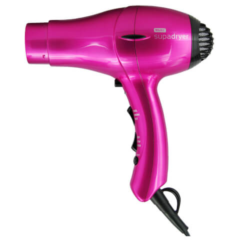 Wahl Supadryer 1800 Ionic Hair Dryer Hot Pink