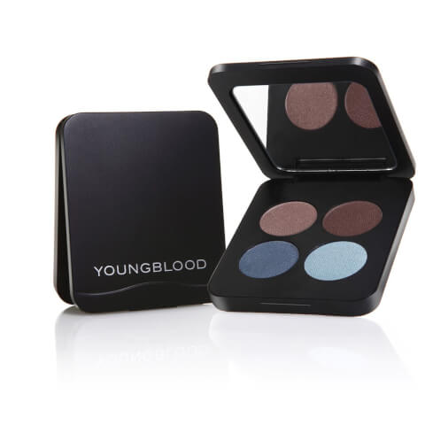 Youngblood Pressed Mineral Eye Shadow Quad 4g - Glamour Eyes