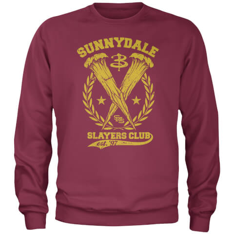 Sweater Sunnydale Slayers Club Buffy Contre les Vampires