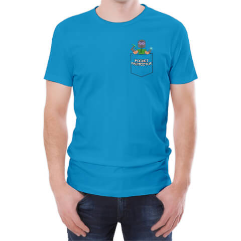 Xisuma Pocket Protector Blue T-Shirt