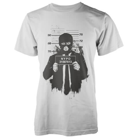 T-Shirt Mugshot Solti -Blanc