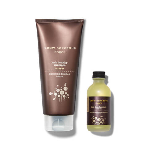 Grow Gorgeous Hair Density Serum Intense and Density Shampoo Intense (Worth $74)
