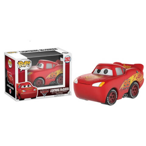 Figurine Pop! Flash McQueen Cars 3 Disney