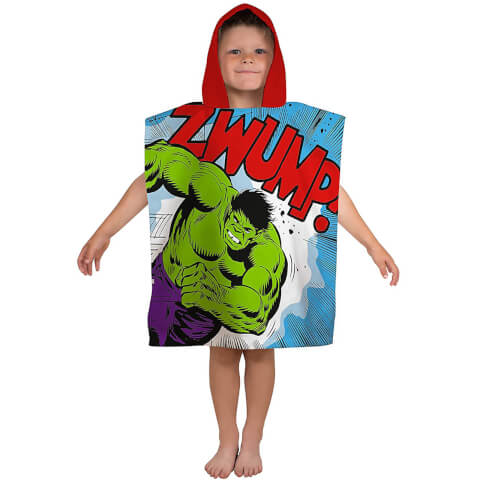 Disney Marvel Comics Retro Poncho Towel