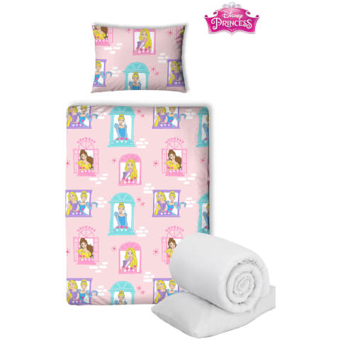 Disney Princess Boulevard Bed Bundle - Junior