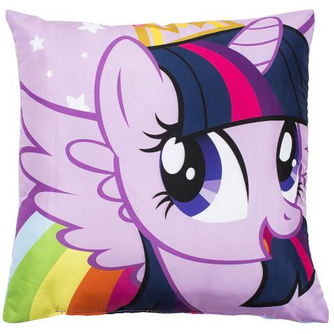 Coussin Réversible Carré My Little Pony : Les amies, c'est magique - Equestria