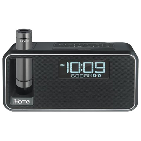 iHome Dual Charge Bluetooth NFC Stereo Alarm Clock - Black