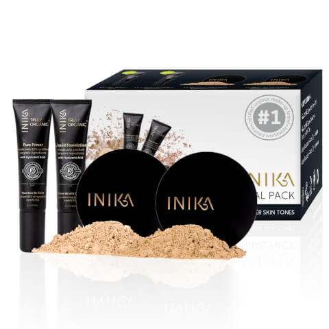 INIKA Powder And Liquid Foundation Trial Pack