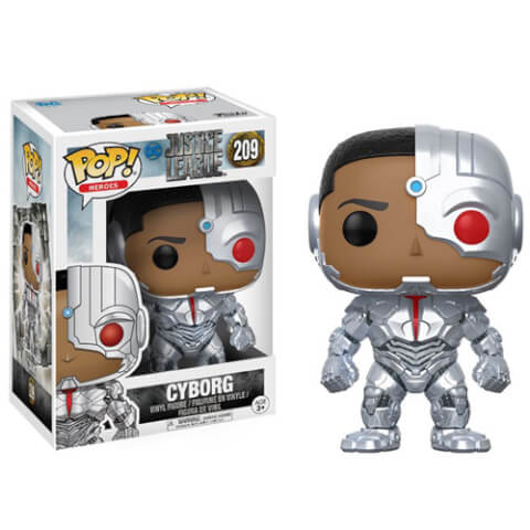 Justice League Cyborg Pop! Vinyl Figure